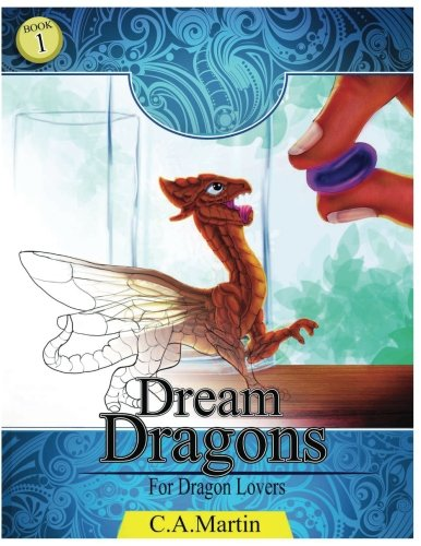 Dream Dragons: :Stress Relief Coloring Book: Mythical Dragons of fantasy pdf