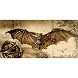 Design Toscano Cyber Bat Steampunk Wall Sculpture