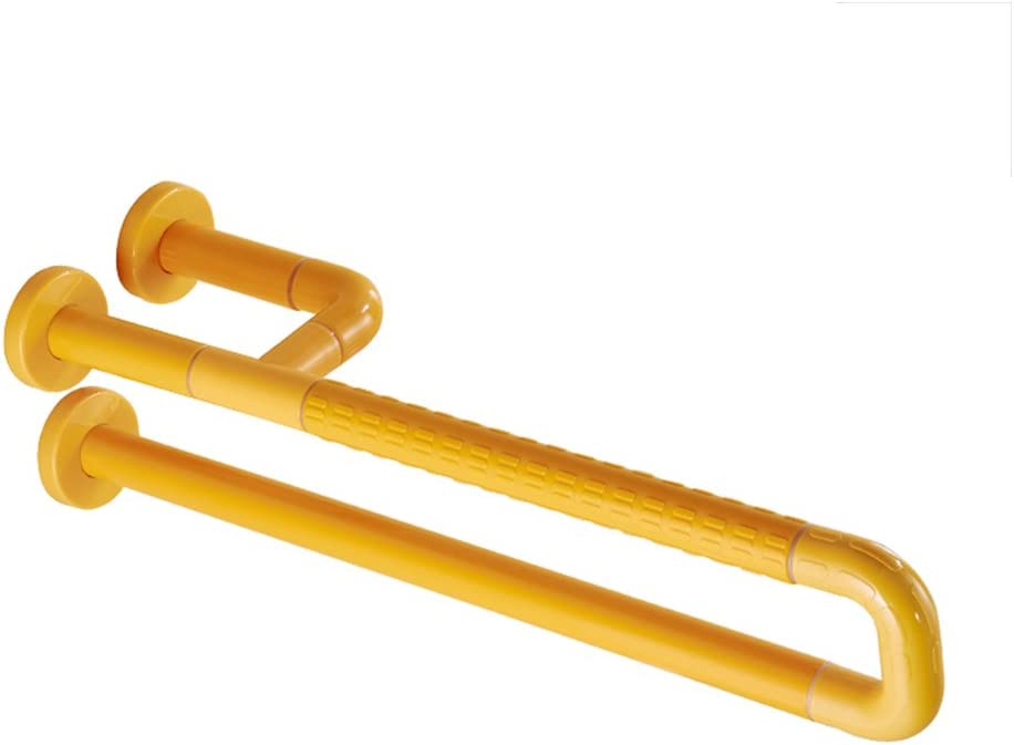 Barrier-Free Safety Handrails Basin Pedestal Non-Slip Handle Nylon Disabled Elderly Shower Rails for The Elderly 63.5cm 51u61KOh54L