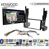 Volunteer Audio Kenwood Excelon DNX694S Double Din Radio Install Kit with GPS Navigation System Android Auto Apple CarPlay Fits 2007-2008 Nissan Maxima