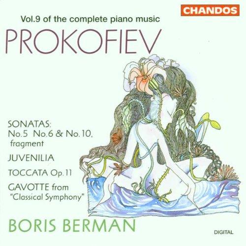 Prokofiev: Piano Sonatas Nos. 5, 6, 10- Fragment