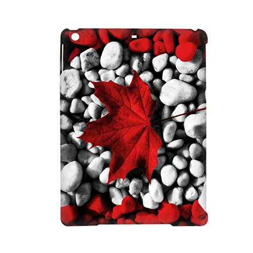 Tyboo Phone Shells Specificity Printed Canadian Flag Maple Leafs Rigid Plastic For 5Th Ipad Apple Air 1Gen For Womon