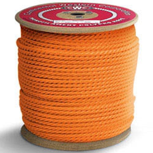 """3//8/"""" x 600/' Polypropylene Black /& Orange Rope"""