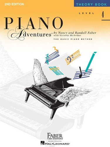 Level 4 - Theory Book: Piano Adventures