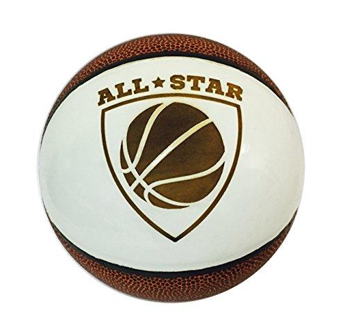 All Star 3D Laser Engraved Miniature Toy 5 inch Basketball (All Star (Jordan Miniatures)