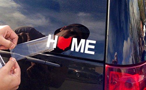 My State Threads Ohio Sticker | Home | RED