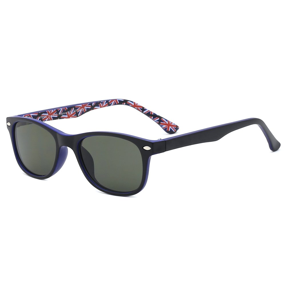 Slocyclub Trendy Square Frame Crafted Sunglasses For Kids
