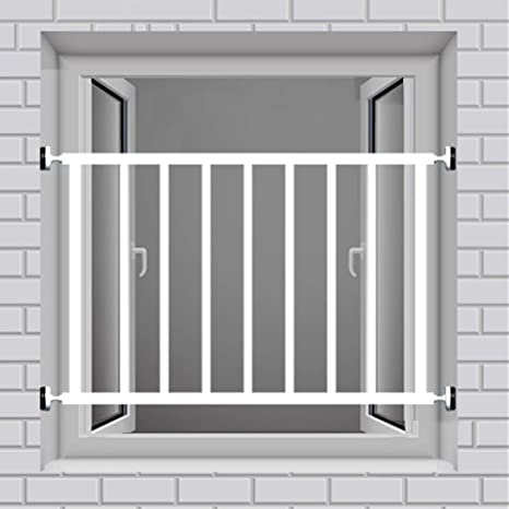QIANDA Fenster Bewachen Sicherheit Riegel Einbruchschutz Fenstergitter Ohne Schlag F/ürs Kleinkind Sicher Zuhause Color : Height 40cm, Size : L50cm