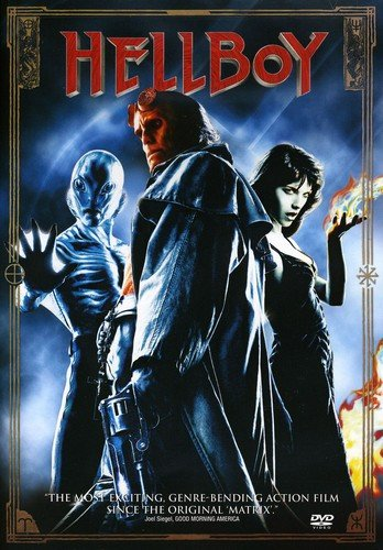 DVD : Hellboy (, Dubbed, Dolby, AC-3, Repackaged)