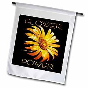SmudgeArt Flower Art Designs - Flower Power - Photography Flowers - 18 x 27 inch Garden Flag (fl_6613_2)