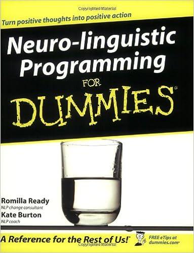 Neuro linguistic programming dating sim