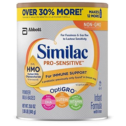 Similac Pro-sensitive Infant Formula 2-fl Hmo For Immune Support, 29.8 Ounce /1.86 Lb