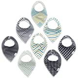 Baby Bandana Bibs for Boys & Girls - Newborn and Infant...