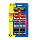 Dual Blades Square Sharpener (Set of 6) Quantity: Case of 144