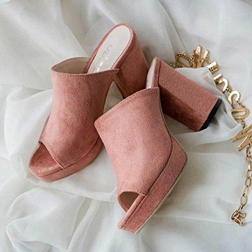 12471 Sandales Pour MML Rose Femme MML OxTfwf5