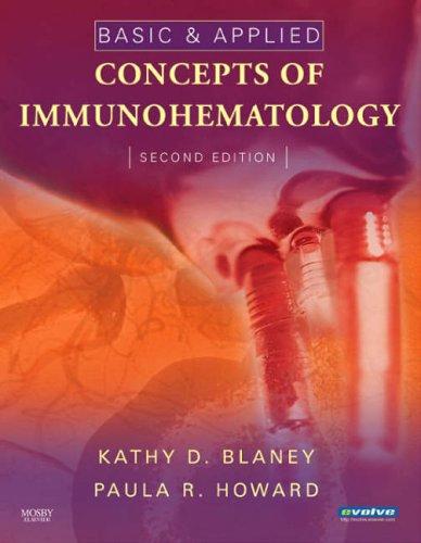 Basic & Applied Concepts of Immunohematology