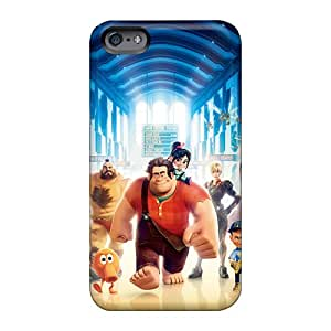 Scratch Protection Hard Phone Covers For Apple Iphone 6s With Customized Trendy Wreck It Ralph 3d Movie Series Hardcase88