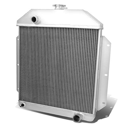 OzCoolingParts 42-52 Ford F-Series Radiator, 4 Row Core Full Aluminum Radiator for 1948-1952 49 50 51 Ford F1 F2 F3 F4 Pickup Truck, 1942-1947 45 46 Ford 1/2 Ton Pickup 3/4Ton Pickup, Chevy V8 Engine ()