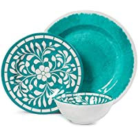 Melamine 12-piece Dinnerware Set Deals