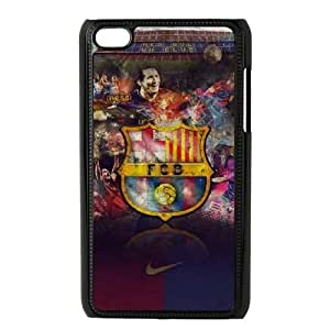 Barcelona For Ipod Touch 4 Cases Cover Cell Phone Case STR648340