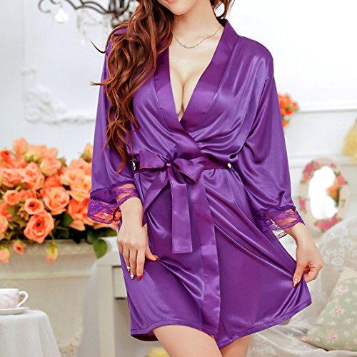 uxcell Lingerie Sleepwear Nightwear Kimono