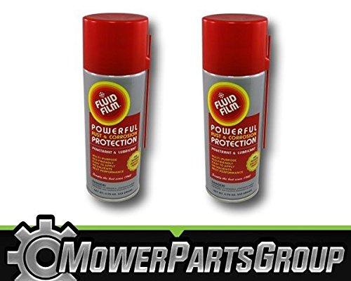 MowerPartsGroup 2 Pack Fluid Film Rust Corrosion Protection Aerosol Can 11.75 oz 11 3/4 - 11.75 Aerosol Ounce
