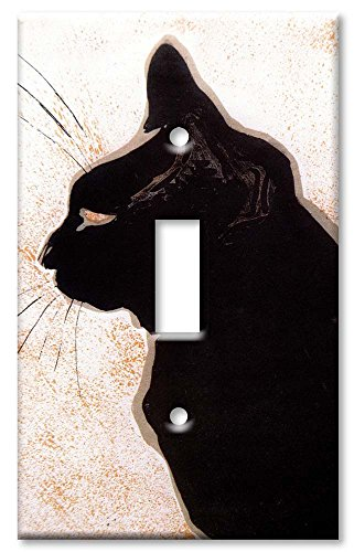 Le Chat Switchplate - Art Plates - Les Chats Switch Plate - Single Toggle