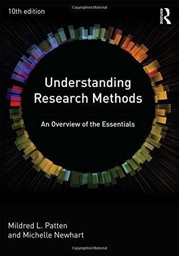 Understanding Research Methods: An Overview of the Essentials