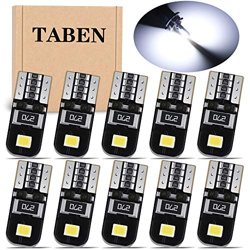 TABEN T10 194 LED Lamp CanBus 2835 Chipsets 168 175 2825 W5W Kentekenverlichting Auto-interieur Kaart Dome…