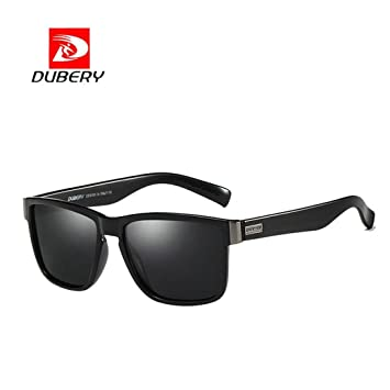DUBERY Men Sport Polarized Sunglasses Outdoor Fishing Driving Square Glasses