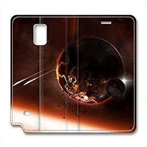 DIY Universe Design Samsung Note 4 Leather Case Crash