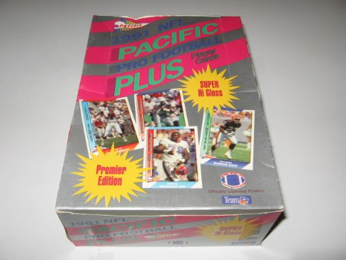 1991 Fleer Football - 1991 Pacific Football Box