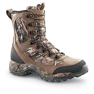 "Mens Pursuit II 9"" Waterproof Camo Hunting Boots"