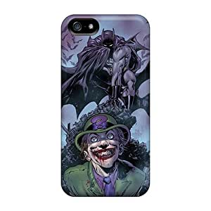 phone covers Cute Appearance Cover/tpu The Riddler I4 Case For iPhone 5c