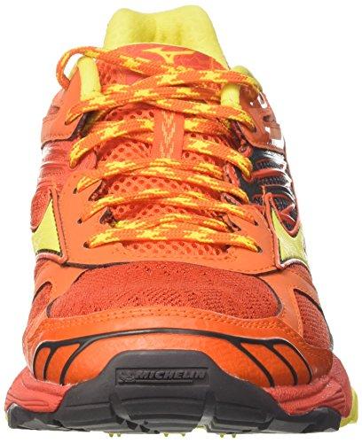 Multicolor Blanzingyellow Mizuno Wave Grenadine Shoes Running Men's Redorange Mujin wxqPCST
