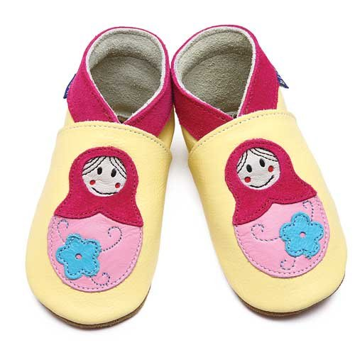 Inch Blue - Zapatos, color amarillo [talla: 20]