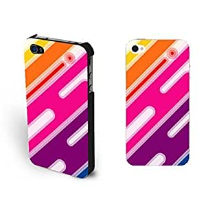 Vogue Watercolor Print For Iphone 4/4S Case Cover Colorful For Iphone 4/4S Case Cover Skin for Teen Girls