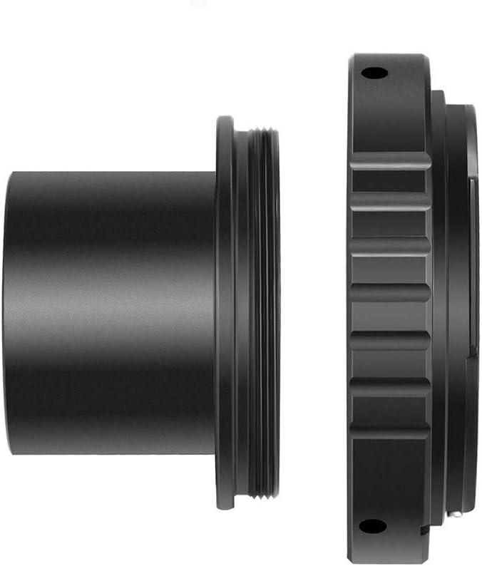 D50 D70 T-Ring and M42 to 1.25 Telescope Adapter,Fits Nikon D90 D40x D60 D80 D800 D700 All Nikon SLR Cameras D40