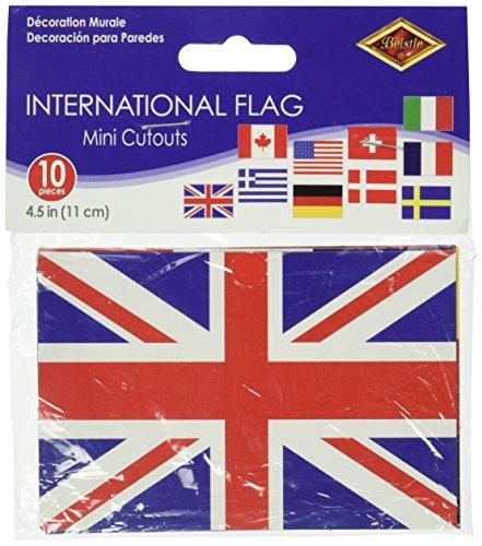 Mini International Flag Cutouts Pkg