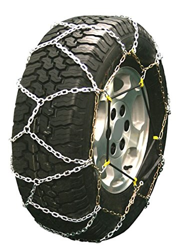 Quality Chain Diamond Back LT 3.7mm Link Tire Chains (Rubber Adjuster Style) (2329LW) by Quality Chain