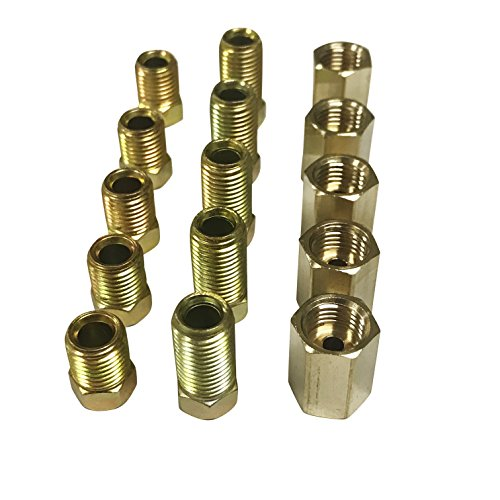 - ASD Brake Line Fittings Assortment For 3/16
