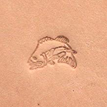 Jumping Bass Fish Leather Craft Stamp F114