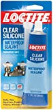 Automotive : Loctite Clear Silicone Waterproof Sealant 2.7-Ounce Tube (908570)