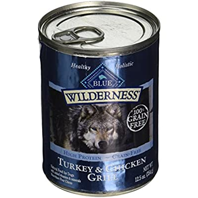 Blue Buffalo 596420 Wilderness Canned Dog Food