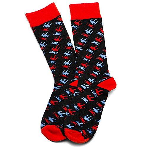 Bamboo Fashion Dress Socks X Wing product image