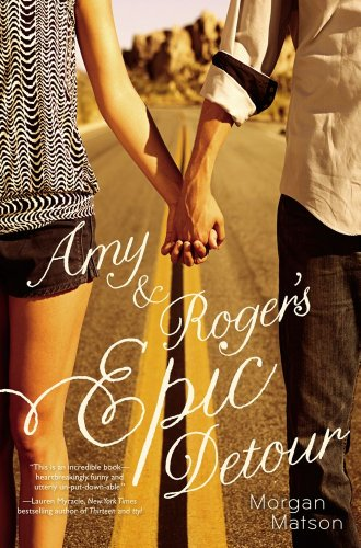 Book cover for Amy & Roger's Epic Detour