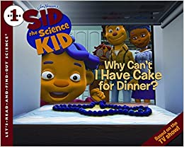 Super Sid The Science Kid Why Cant I Have Cake For Dinner Huelin Funny Birthday Cards Online Inifofree Goldxyz