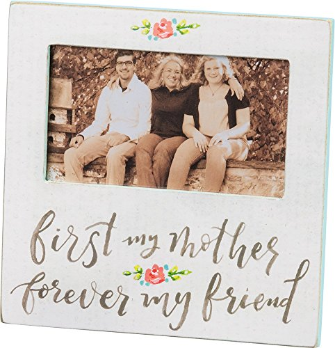 Primitives by Kathy Hand-Lettered Photo Frame, First My Mother