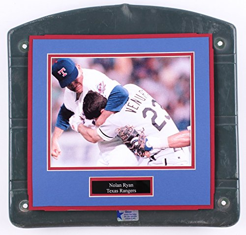 (Texas Rangers Nolan Ryan Ventura fight Ballpark Arlington Stadium Seat Bottom GU)