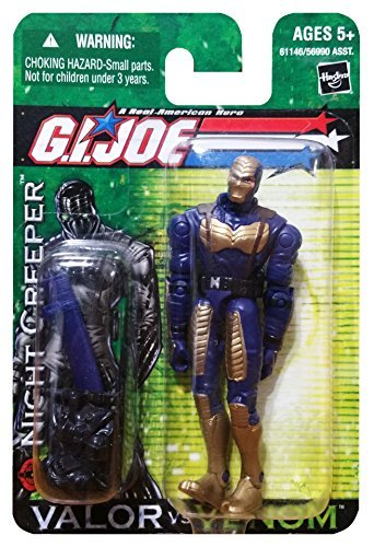 G.I. Joe Valor vs. Venom: Night Creeper (Cobra Ninja) 3.75 Inch Action (Venom Creeper)